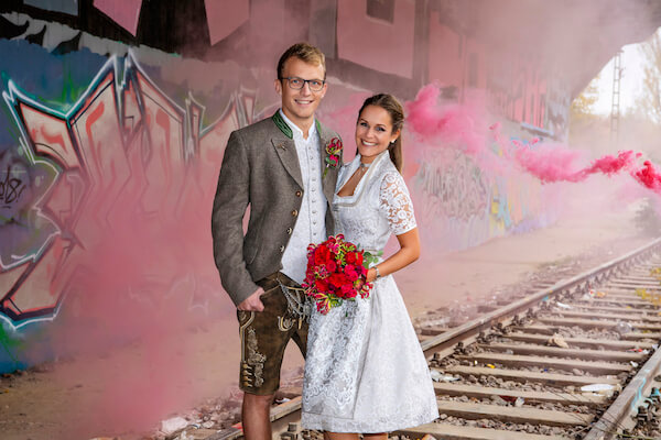After-Wedding-Shooting-Geisterbahnhof-München-Shooting