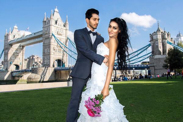 After Wedding Shooting-London-Fotograf-Tower-Bridge