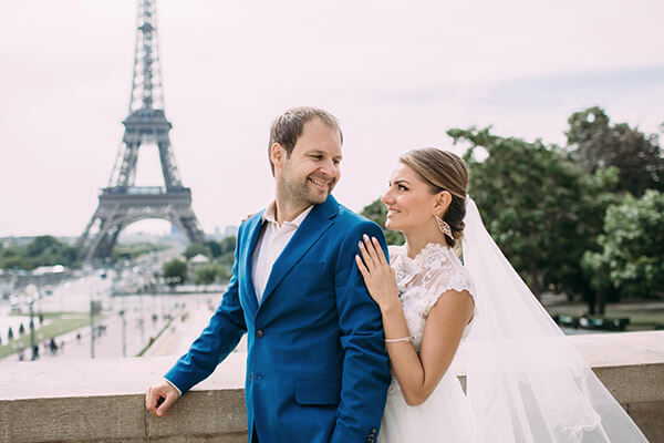 After Wedding Shooting Paris Fotograf