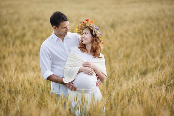 Babybauch-Fotoshooting-Chiemsee