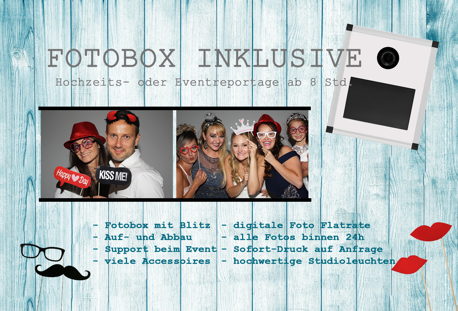 Fotobox Rosenheim Prien am Chiemsee