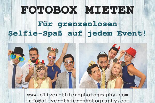 Fotobox mieten Rosenheim Chiemsee