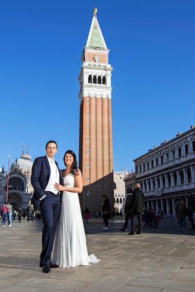 Fotograf-Markusplatz-Venedig-Fotoshooting-Brautpaar