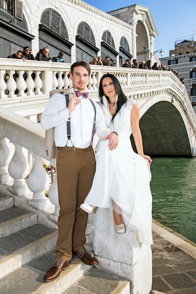Fotograf-Venedig-Rialtobrücke-Brautpaar-Shooting-Hochzeit