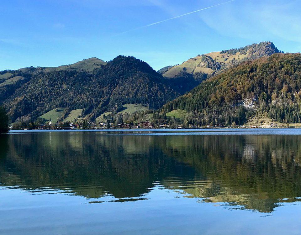Fotograf am Walchsee in Tirol