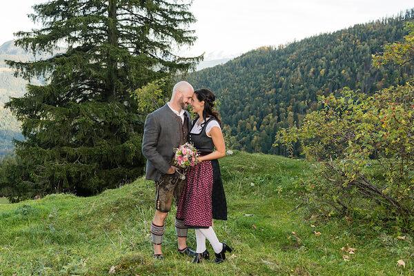 Hochzeit Ganserln Alm Kitzbühel